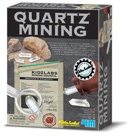 4M Quartz mining vanaf 8-99 jaar