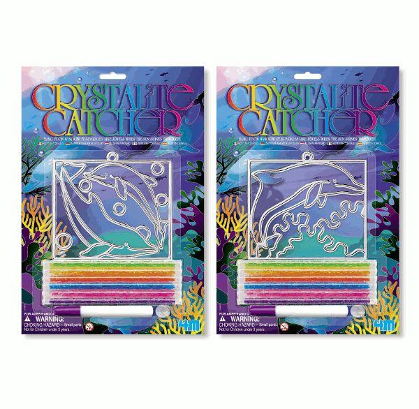 4M Dolfijn Glitterkunst Hanger vanaf 5-12 jaar