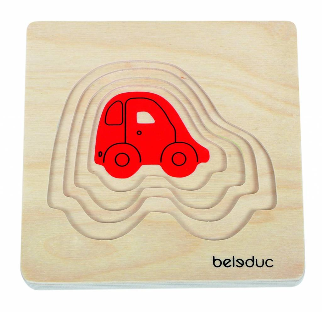 Beleduc Lagenpuzzel Auto Beleduc vanaf 2-4 jaar