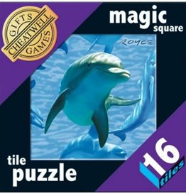 Cheatwell Magic Square Tile Puzzle 16 Dolphins vanaf 8-99 jaar