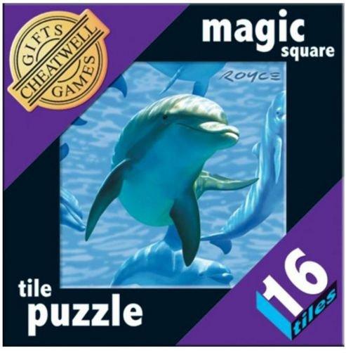 Cheatwell Magic Square Tile Puzzle 16 Dolphin vanaf 8-99 jaar