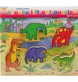Bigjigs Grote puzzelstukken dino's (1,5 jaar)