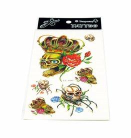 PW Educatief Tattoos Schedels vanaf 8-99 jaar