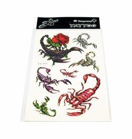 PW Educatief Tattoos Scorpions vanaf 8-99 jaar