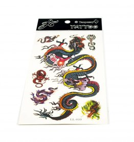 PW Educatief Tattoos Big Dragon vanaf 8-99 jaar