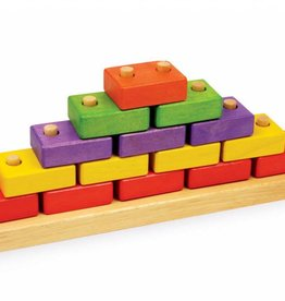 PW Educatief Blokken piramide vanaf 2 jaar