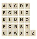 PW Educatief Magnetische Blokjes met hoofdletters Schoolkwaliteit 4-99 jaar