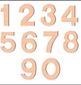 PW Educatief Magnetische houten Cijfers vanaf 4-99 jaar