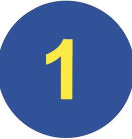 PW Educatief Vloerschijven anti-slip Cijfers vanaf 2-99 jaar