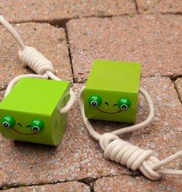 PW Educatief Houten loopklossen groen vanaf 4 jaar