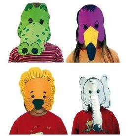 PW Educatief Maskers Dieren vanaf 4-8 jaar