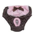 Puppy Angel Puppy Angel Dotty Cotty period pink panties