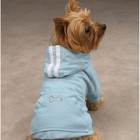 Casual Canine Bling Bone Dog Hoodie Pink