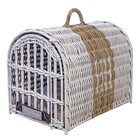 Happy House Travel Basket HH Offwhite