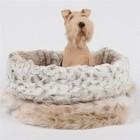 Susan Lanci Design Susan Lanci Cuddle Tasse weichen Schneeleopard