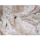 Susan Lanci Design Susan Lanci Blanket Soft Snow Leopard