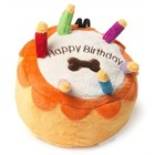 House of Paws HOUSE OF PAWS PLUCHE BIRTHDAY CAKE 8X8X7 CM
