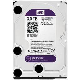 """WD Western Digital WD30PURX 3TB 3.5"""" Internal Hard Drive - SATA - 64 MB Buffer"""