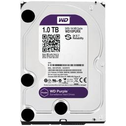 """WD Western Digital WD10PURX 1TB 3.5"""" Internal Hard Drive - SATA - 64 MB Buffer"""