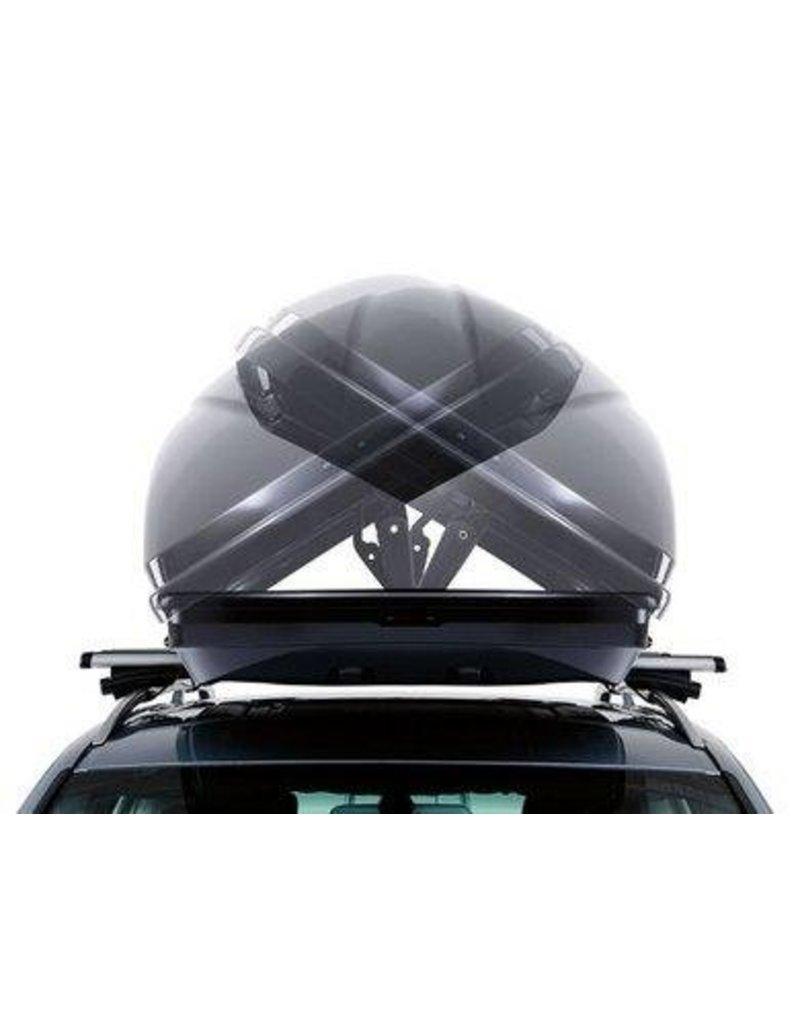 Excellence XT dakkoffer skibox zwart titaan