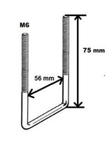 dakkoffer klemset universeel max.56mm