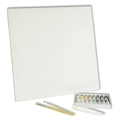 Acryl verfkwasten / Verf set (15 stuks)