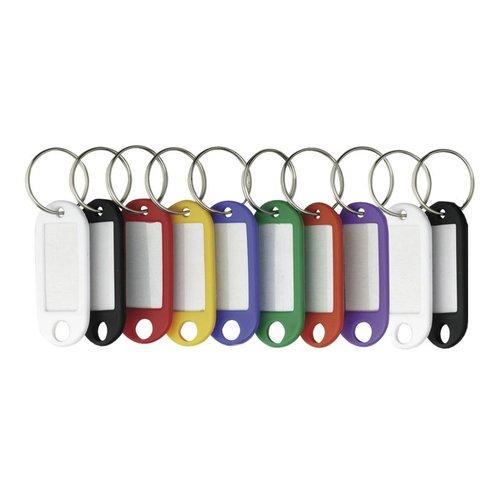 K-parts Sleutellabels Plastic 10 Stuks (assortiment)