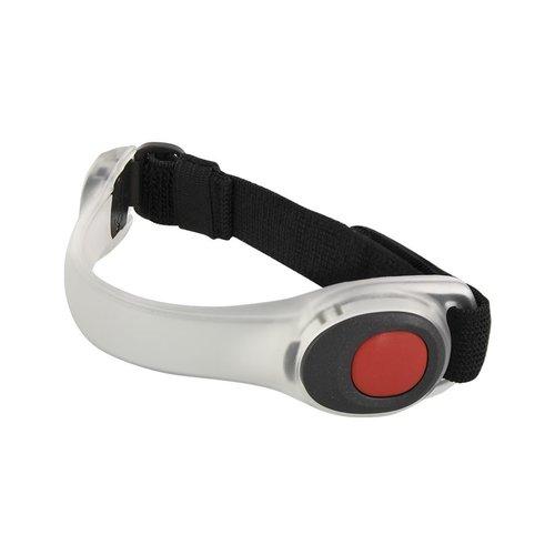 Pro+ LED Sportarmband Hardlopen Verstelbaar Deluxe Rood