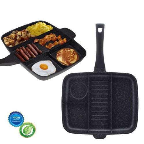 B-Deal Multi Grillpan Marmeren Coating