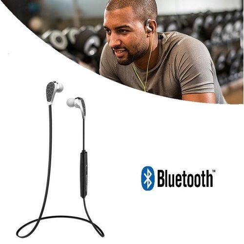Bluedio Draadloze Bluetooth Oordopjes N2 V4.1 In-Ear Sport Zwart