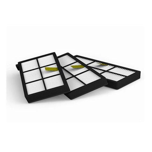 2Clean Roomba 800 / 900 Serie HEPA Filterset (3 Stuks)