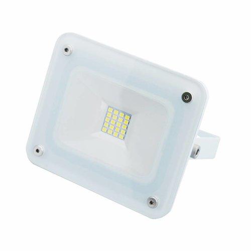 Hofftech LED COB Straler / Bouwlamp 10 Watt. Wit Licht (Witte Uitvoering)