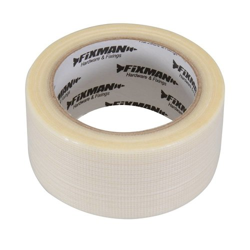 Fixman 'Heavy-Duty' Duct Tape 50 Mm X 20 M, Transparant