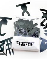 A little lovely company Wordbanner / Letterslinger zwart