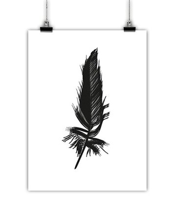 Jots Poster Feather