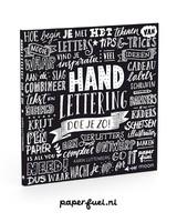 Paperfuel Boek Handlettering doe je zo!