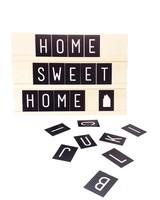 Dots Lifestyle Tekstbord met letterset