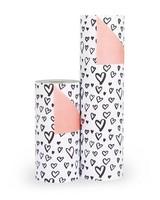 Cadeaupapier Painted hearts
