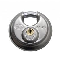 Discus Hangslot Roestvaststaal 5 pins 70mm