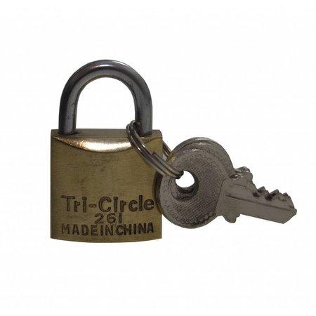 Tri-Circle Hangslotje 20mm 261