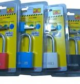 Stahlex Hangslot 40mm Gekleurd Budget Hoge uitvoering