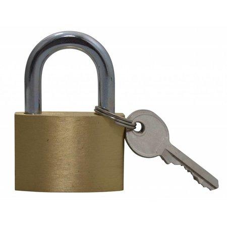 Lock-it Hangslot blanco 40mm om te graveren