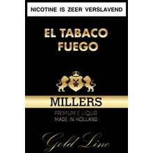 Millers Juice Goldline El tabaco fuego