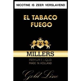 El tabaco fuego e-liquid