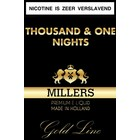 Millers Juice Goldline Thousand en One Nights