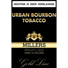 Millers Juice Goldline Urban Bourbon Tobacco