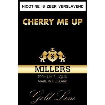 Millers Juice Goldline Cherry Me Up Millers Juice Goldline liquid