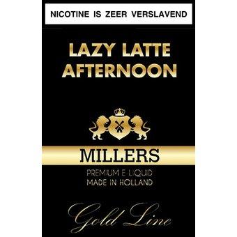 Millers Juice Goldline Lazy Latte Afternoon millers juice goldline liquid