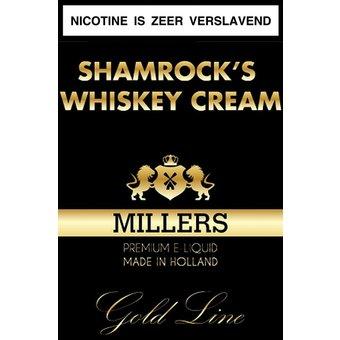 Shamrock's Whiskey Cream Millers Juice Goldline e-liquid