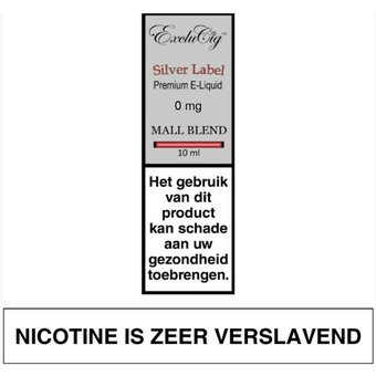 ExcluCig Silver Label Mall Blend liquid